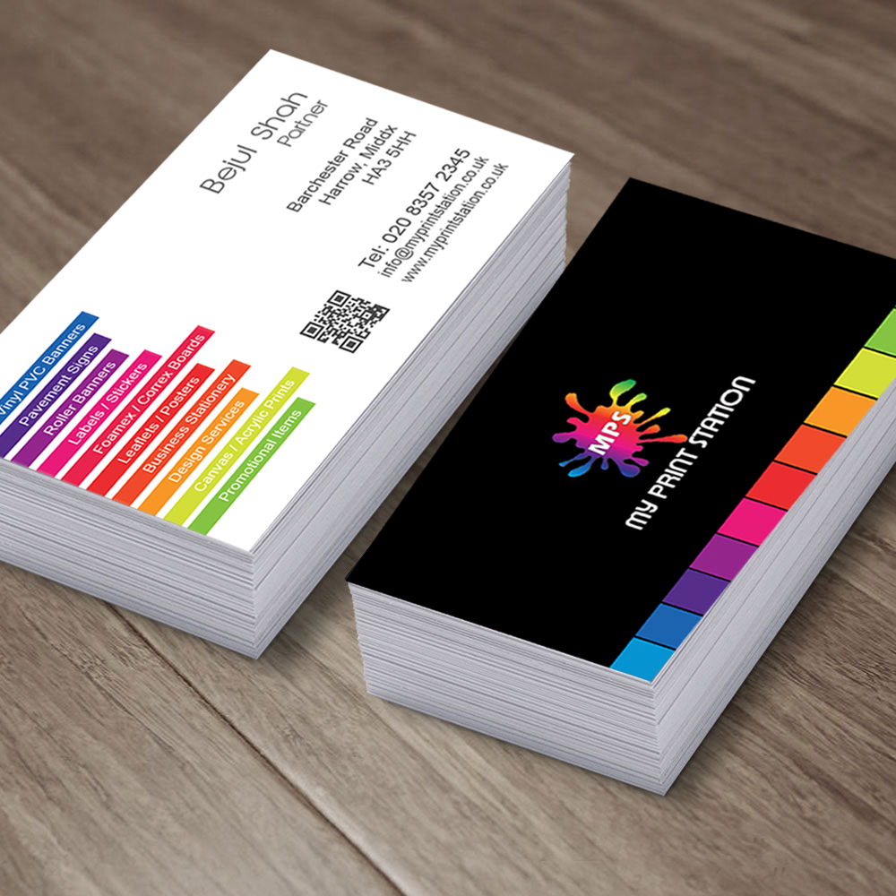 Business cards my print station prices and options can be viewed on the order form reheart Images